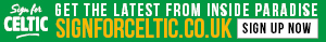 Sign For Celtic Banner