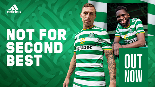 adidas x Celtic FC Home Kit Out Now!