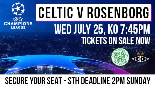 UEFA CL Celtic v Rosenborg