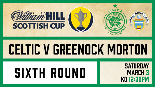 Celtic v Greenock Morton