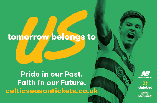 Celtic Season Tickets 2017/18