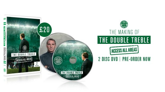 The Making of the Double Treble. Access All Areas DVD. Pre-order now.