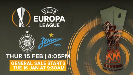 Europa League Tickets Public Sale