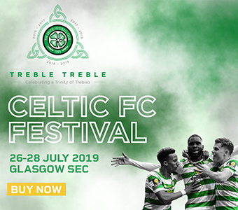 Book your Celtic FC Festival tickets today