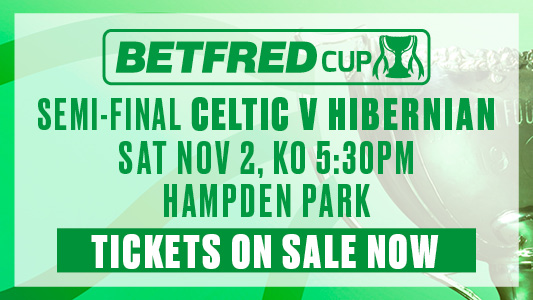 Betfred semi-final Tickets on sale now