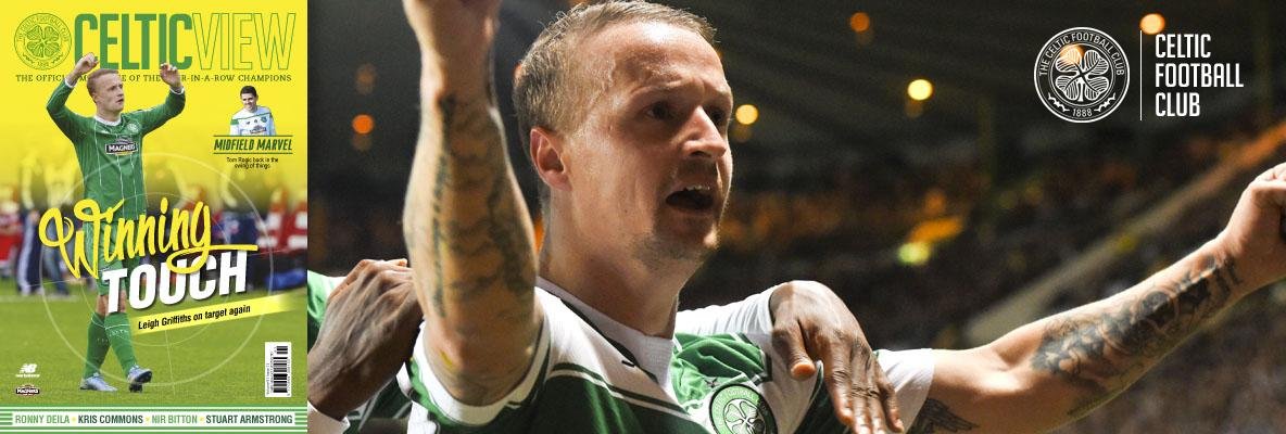 Griffiths: It's a great feeling making Celtic Park erupt