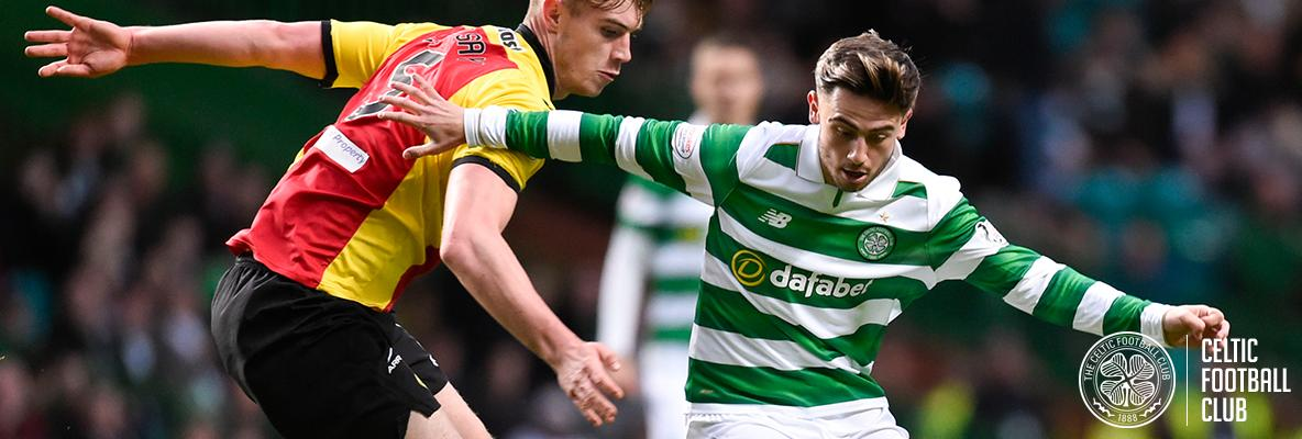 Frustrating night in Paradise as Hoops held to Glasgow derby draw