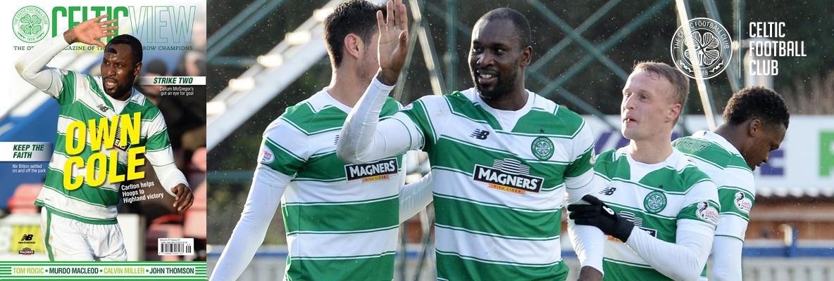 Cole on song in this week's Celtic View