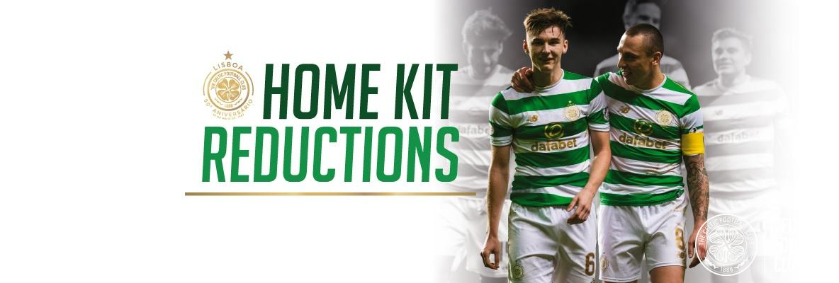 2017/18 home kit reductions available in-store & online
