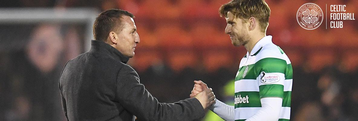 Armstrong hails Brendan Rodgers after Scotland call-up