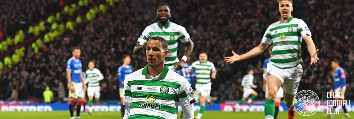 Ten-man Celtic defeat Rangers to win League Cup final