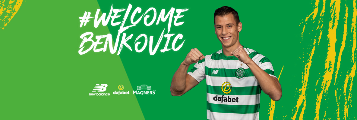 Filip Benkovic joins Celtic on a season-long loan