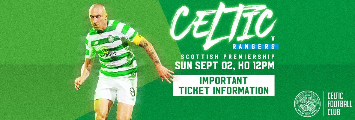 Celtic v Rangers ticket deadline – 5pm today for eligible STH