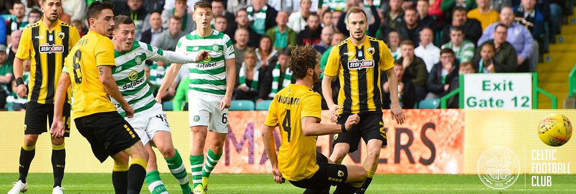 Euro frustration for Celtic at Paradise against AEK Athens