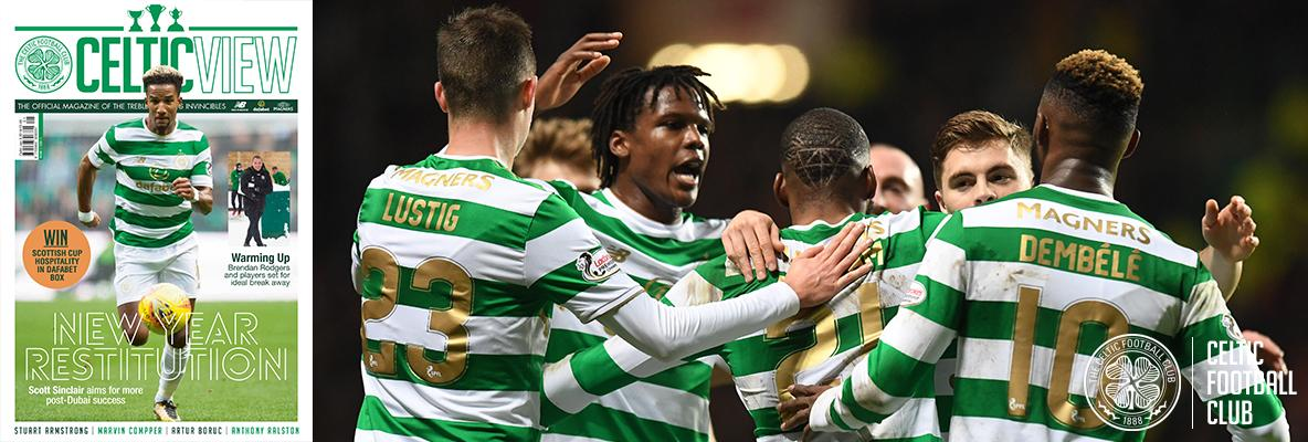 The first Celtic View of the New Year is out on Thursday