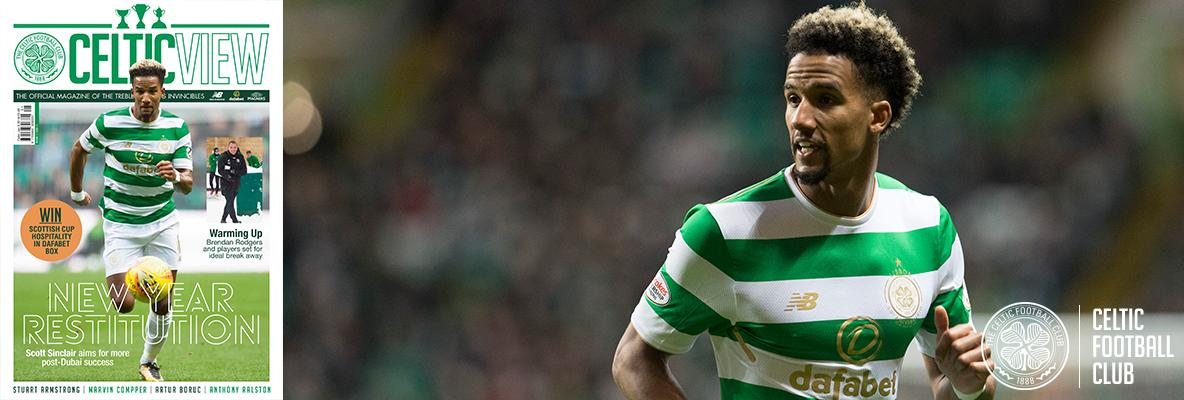 Scott Sinclair sets his sights on 2018 in this week's Celtic View