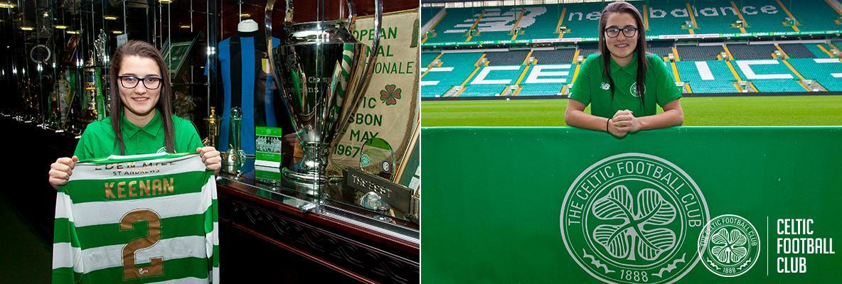 Defender Keeva Keenan joins Celtic Women for 2018 season