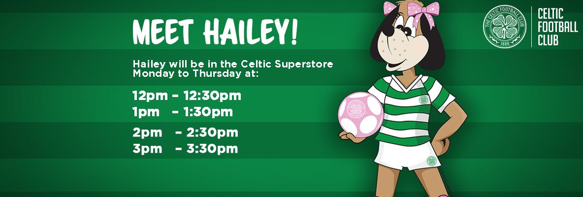 Meet Hailey the Huddle Hound during the school holidays