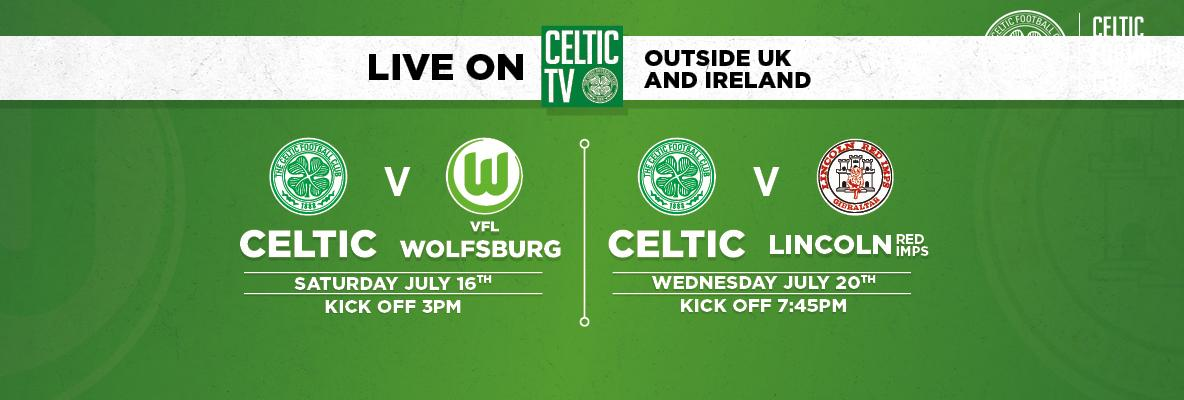VFL Wolfsburg and Lincoln Red Imps matches live on Celtic TV