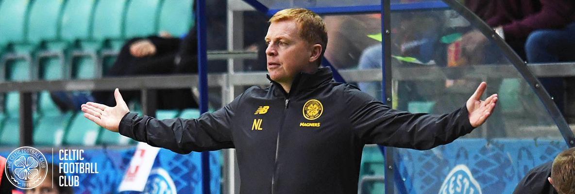 Neil Lennon: We produced a confident and controlled performance