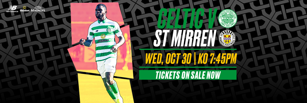 Secure your place for more league action at Paradise v St Mirren