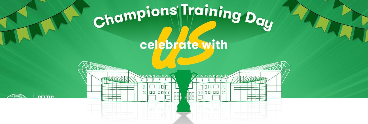 Join Us On Friday to Watch The Champions Train At Paradise