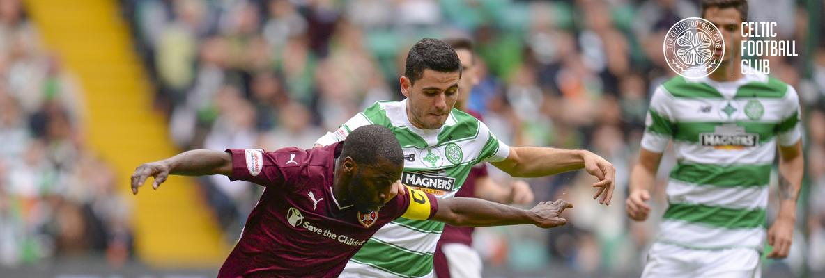 Dominant Celts held by Hearts