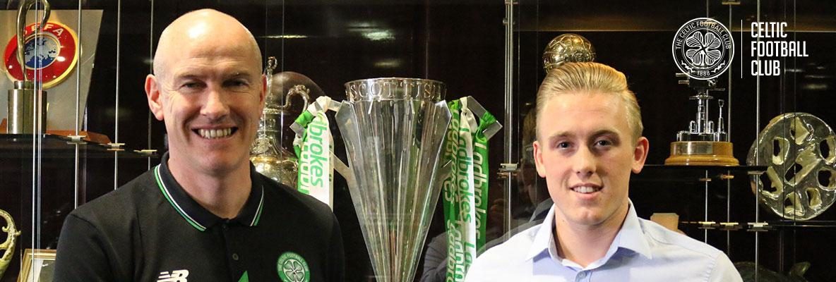 Calvin Miller signs new three-year deal with Celtic