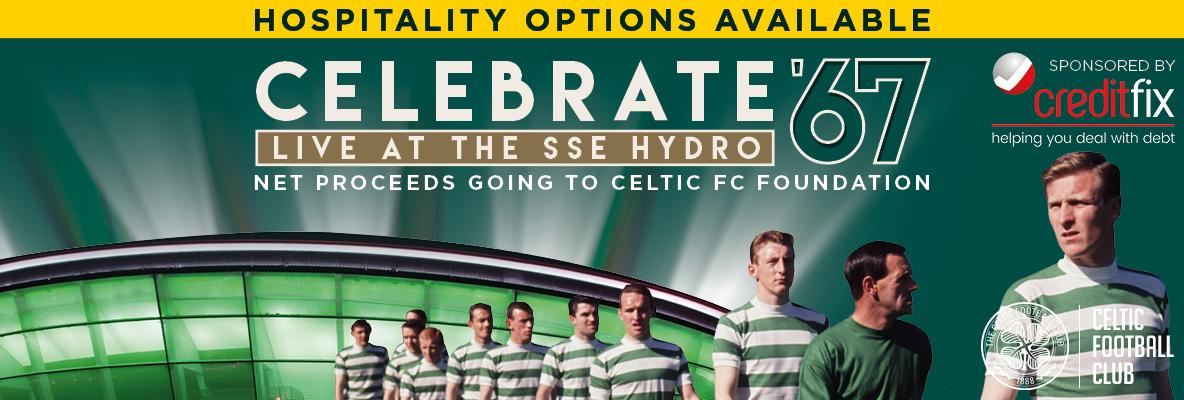 Hospitality packages on sale now for Celebrate '67
