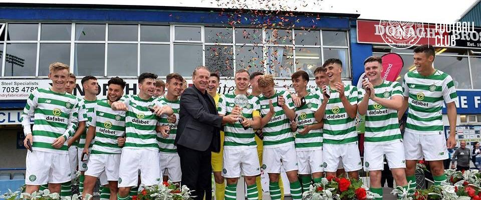Young Celts sink Manchester United to win SuperCup NI