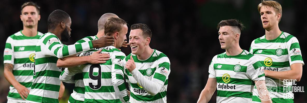 Griffiths makes it a century of goals as Celts beat Suduva