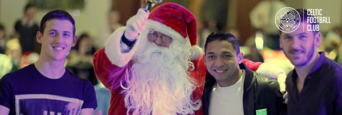 Success of Celtic FC Foundation's Christmas party