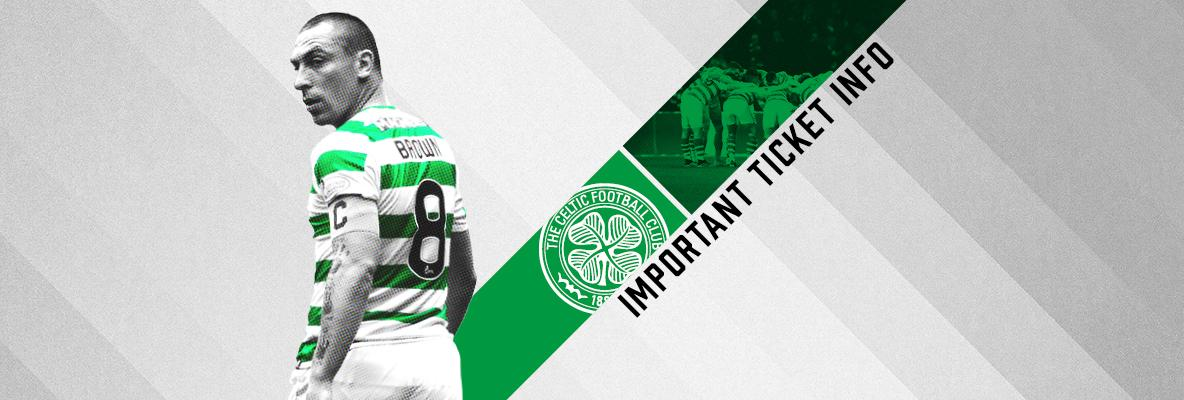 Celtic v Rangers tickets on sale to eligible Season Ticket Holders