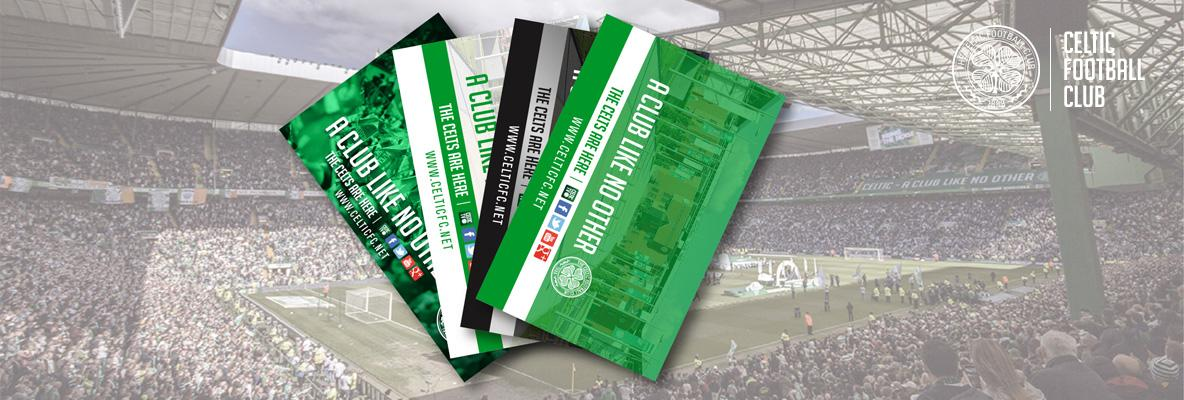 Brand new season cards in the post