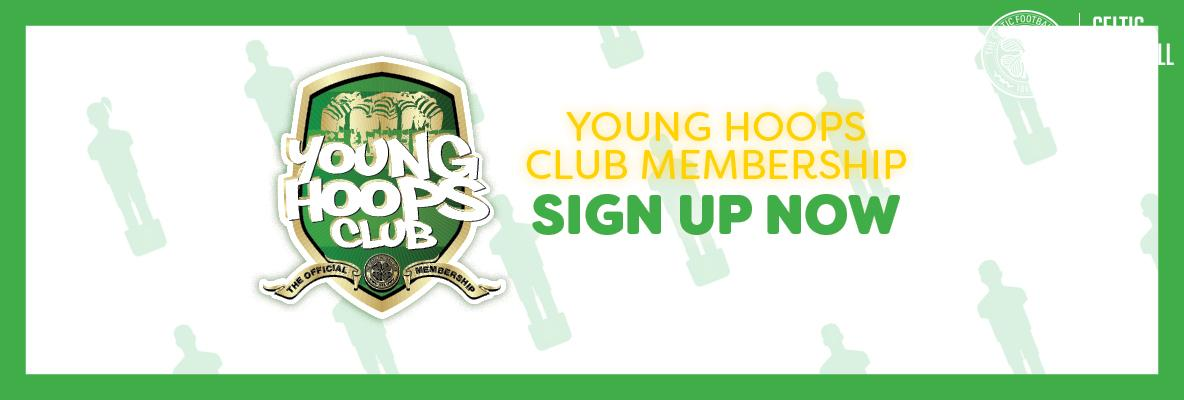 2018/19 Young Hoops Club memberships available in-store & online