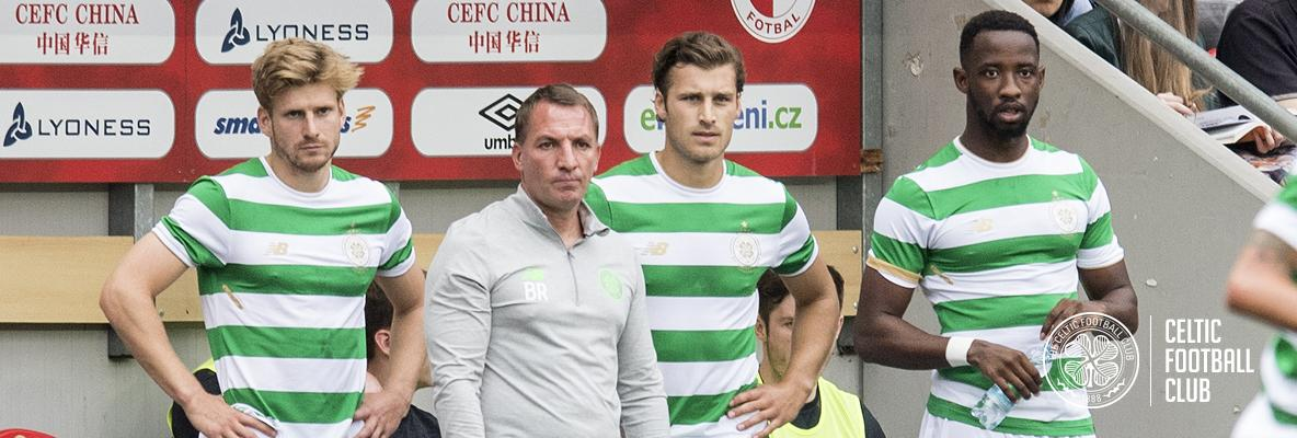Brendan Rodgers satisfied after Celts draw with Slavia