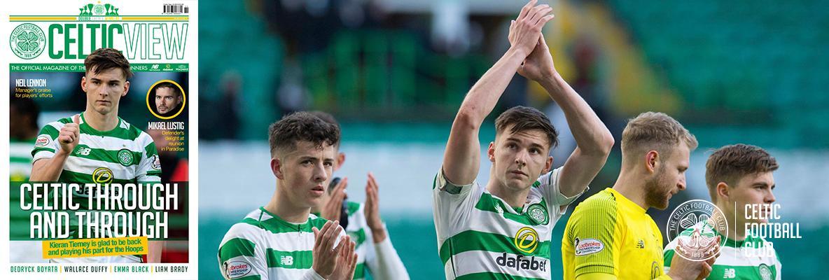 Kieran Tierney hails John Kennedy in this week's Celtic View