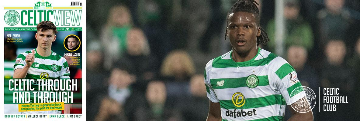 Dedryck Boyata taking nothing for granted at Dens Park