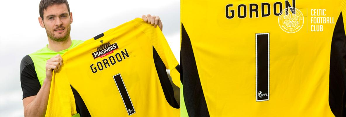 Craig Gordon is Celtic's No.1