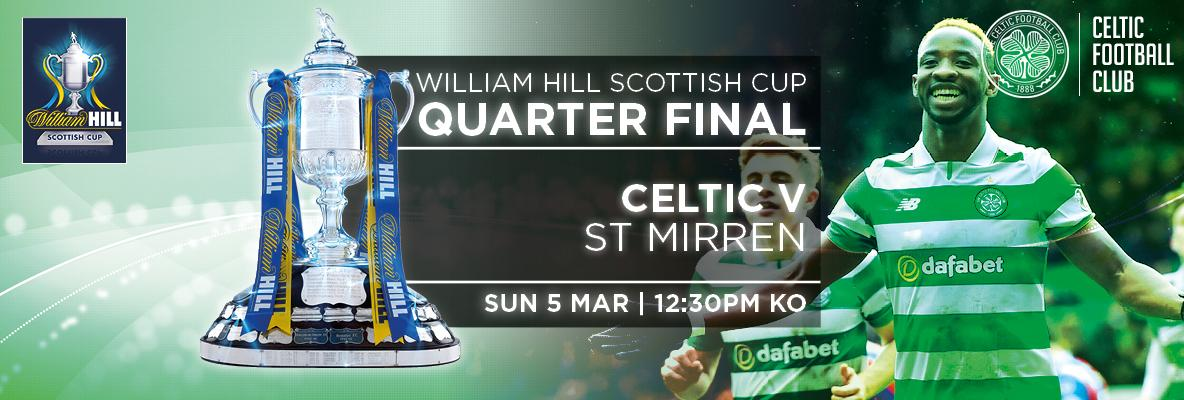 Secure your seat for Celtic v St Mirren in the Scottish Cup