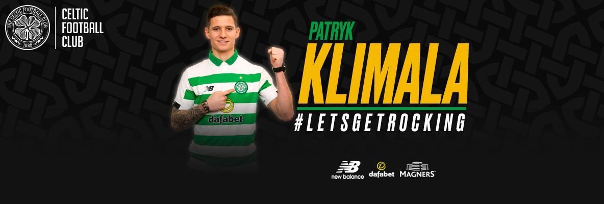 Celtic delighted to sign Polish striker, Patryk Klimala