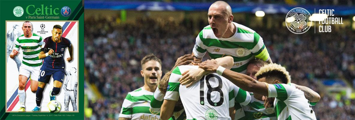 Celtic v Paris Saint-Germain matchday programme not to be missed