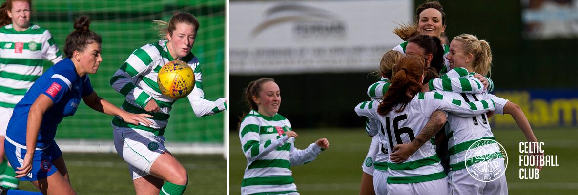 Celtic Women fight back to take all three points