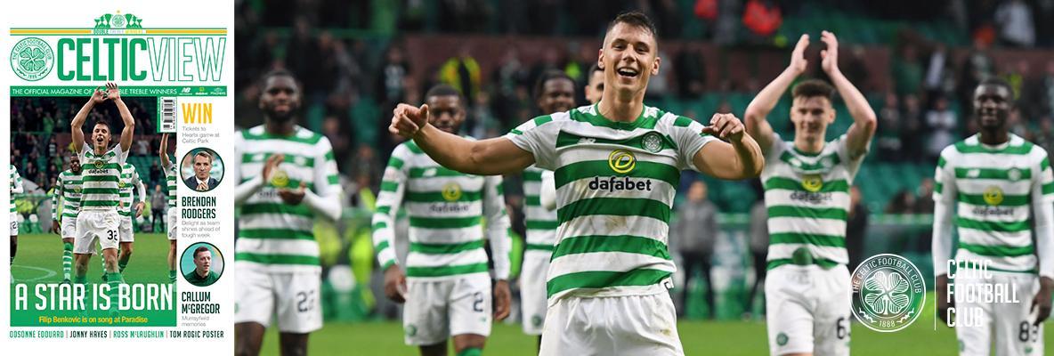 Filip Benkovic is this week's Celtic View star man