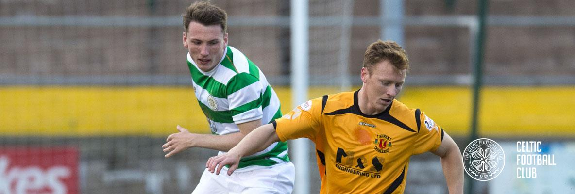 Celtic Colts face Annan Athletic in Irn-Bru Cup