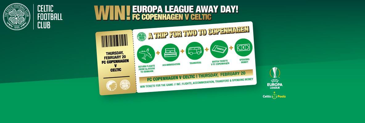 One week to enter! Win a Europa League away trip to Copenhagen