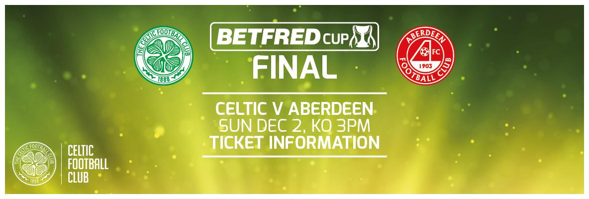 Limited Betfred League Cup final tickets available