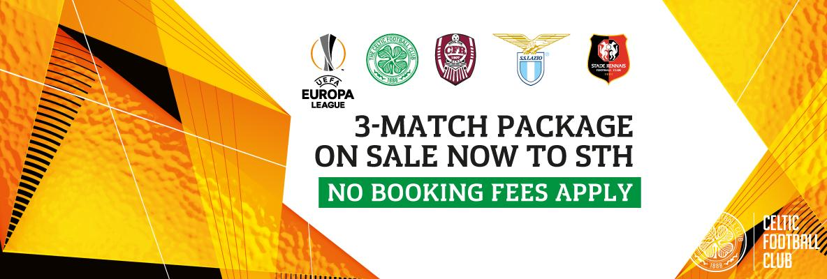 Europa League 3-match package STH buy online now and beat queues