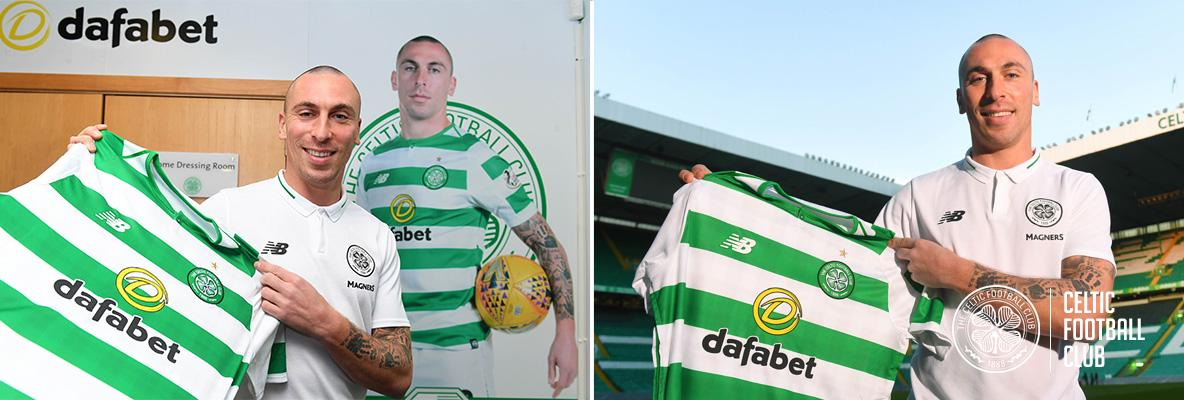 Celtic delight as Scott Brown signs two-year contract extension
