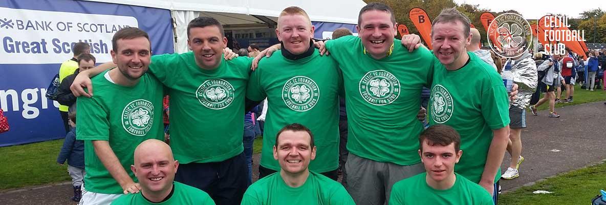 Get on your marks for Celtic FC Foundation